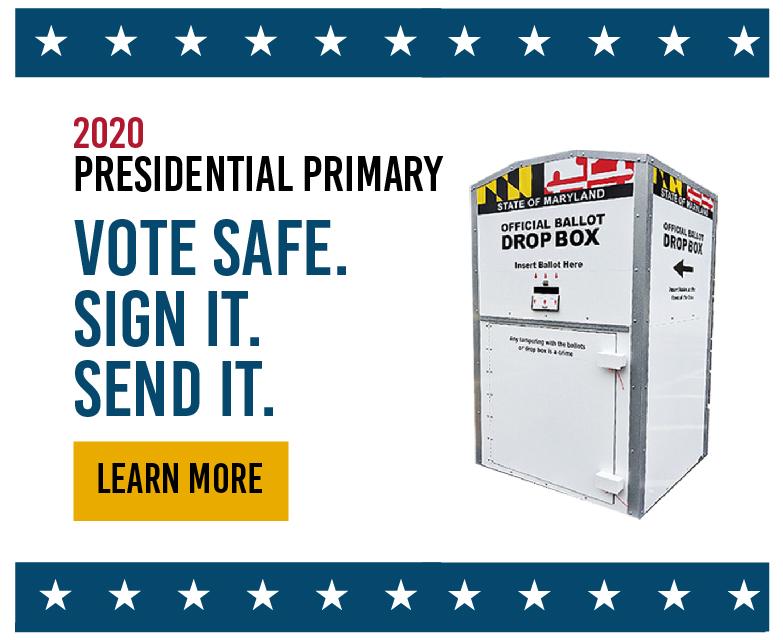 June 2nd - Vote Safe. Sign It. Send It.